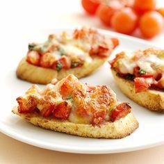 Lämpimät tomaattileivät