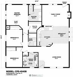 Home finder v2 oak creek homes oklahoma city for 40x40 garage plans