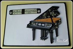 quilled piano card - by: hanezzart.blogspot.com