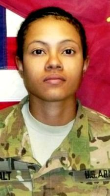Army SPC. Ember M. Alt, 21, of Beech Island, South Carolina. Died June 18, 2013, serving during Operation Enduring Freedom. Assigned to 68th Combat Sustainment Support Battalion, 43rd Sustainment Brigade, 4th Infantry Division, Fort Carson, Colorado. Died in Bagram AFB, Parwan Province, Afghanistan, of wounds suffered when enemy forces attacked her unit with indirect fire.