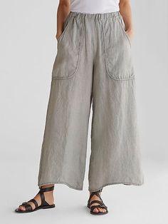 Women Linen Pants Casual Pockets Summer Plus Size Pants Loose Pants, Wide Leg Pants, Women's Pants, Yoga Trousers, Pants Outfit, Harem Pants, Culotte Pants, Cropped Trousers, Pant Jumpsuit