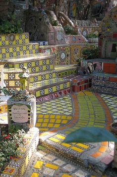 Mosaic, Garden of Oz - in hollywood hills, CA
