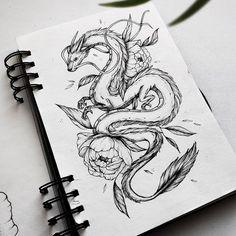 Dream Tattoos, Time Tattoos, Hot Tattoos, Flower Tattoos, Dragon Tattoo For Women, Tattoos For Women, Shoulder Tattoo Words, Tattoo Sketches, Tattoo Drawings