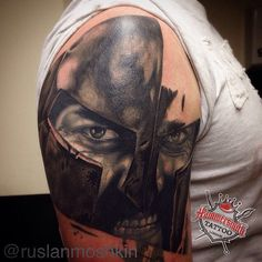 Another session on this Spartan inspired cover up from @ruslanmoshkin at @hammersmithtattoo a couple sessions left on this part of the piece then it's on to working on the rest of the sleeve #hammersmith #tattoo #coverup #custom #htcrew #htwest #tattman #300 #thisisspartaaaaaa