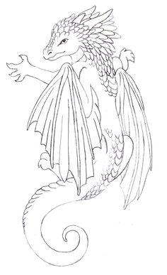 Baby Dragon Tattoo By Annikki On DeviantART Part Of My New