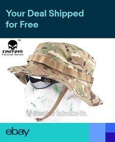854d55bd01c EMERSON Boonie Hat Military Tactical Anti-scrape Fabric Airsoft Fishing  MultiCam