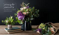 D.I.Y. flower arrang
