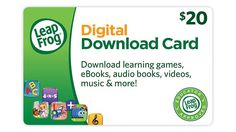 $20 Digital Download Card | Choose from our extensive library up to $20 worth of digital downloads.