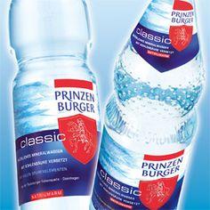 Prinzenburger Mineralwasser Packaging