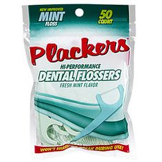 Plackers® Dental Flossers, 50-Count