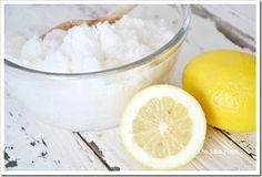 lemon sugar-scrub