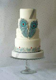 Good Heat Preservation Many Sizes Peacock Feathers Print Edible Cake Topper Image-great For Weddings