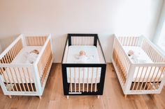 New room, new routine — Wildernest Triplets Nursery, Triplet Babies, Safety Shop, Think Small, New Environment, Newborn Care, Baby Safety, New Room, Baby Room