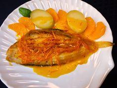 Cocinando con Lola García: Lenguado a la naranja