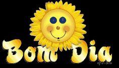 orkut e hi5, Bom Dia, girassol, imagem para orkut, recado para orkut, recado de bom dia para orkut