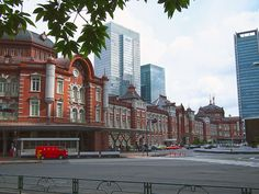 Tokyo station after the rain