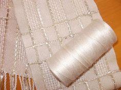 Sarah H. Jackson, Textile Artist: Huck Lace in Bambu 7