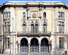 Seu del Districte de l'Eixample  1893  Architect: Pere Falqués i Urpí