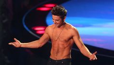 Here's a Supercut Of Every Time Zac Efron Took His Shirt Off On Screen