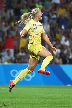 Stina Blackstenius (Sweden)  Rio 2016 Olympics
