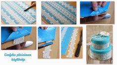 Confetti cake lace Confetti Cake, Lace, Inspiration, Biblical Inspiration, Lace Making, Inhalation