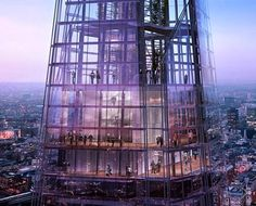 The Shard By Renzo Piano Building Workshop - Public Viewing Gallery, which should be opening to the public around February 2013. You can register for tickets at The Shard website - http://the-shard.com/shard