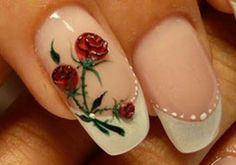 Pretty, eliminate the white dots, the Rose is great!