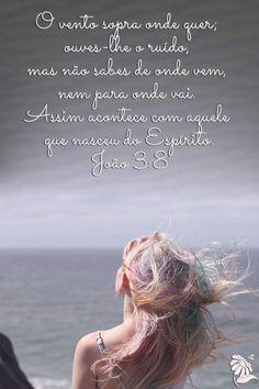 ❤ João 3.8