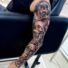 125 Best Arm Tattoos For Men- 125 Best Arm Tattoos For Men Best Tattoo Designs For Men's Arms – Best Arm Tattoos For Men: Cool Upper, Lower, Inner, Front, Back and Side Arm Tattoo Designs and Ideas For Guys - Side Arm Tattoos, Tattoos Arm Mann, Upper Arm Tattoos, Arm Band Tattoo, Lower Back Tattoos, Trendy Tattoos, New Tattoos, Cool Tattoos, Hand Tattoos