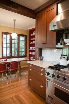 nice colors Larchmont, New York Kitchen - traditional - kitchen - new york - Debra Kling Colour Consultant