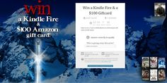 Win a Kindle Fire & a $100 Giftcard http://deanwrites.com/giveaways/win-a-kindle-fire-a-100-giftcard/?lucky=4776