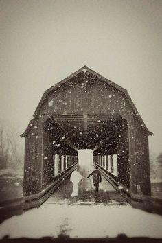wish i'd had a winter wedding