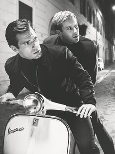 Henry Cavill and Armie Hammer - Man from UNCLE