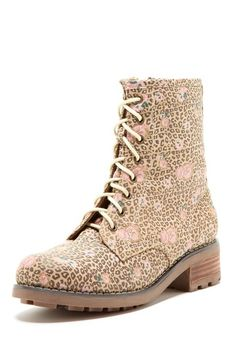 candy print boots 34.00
