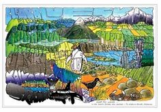Lost for Words in the South Island by Cecilia Russell for Sale - New Zealand Art Prints