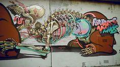 street art by Nychos