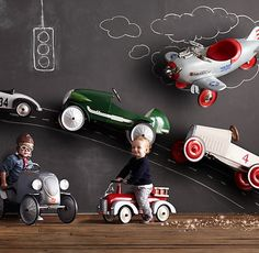 Vintage Fire Truck Scoot | Riding Toys | Restoration Hardware Baby & Child