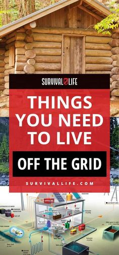 Off the Grid | Things You Need to Live Off the Grid | Posted by: SurvivalofthePrepped.com #Survival