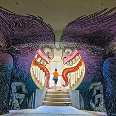 30 Stunning Murals That Will Definitely Leave You in Awe - scrollbreak