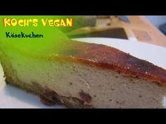 veganer Käsekuchen - Kuchen backen - veganer Kuchen - vegane Rezepte von Koch's vegan - YouTube