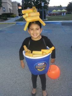 DIY Easy Mac and Cheese Costume