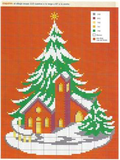 Cross Stitch Christmas Cards, Christmas Charts, Xmas Cross Stitch, Cross Stitch Flowers, Modern Cross Stitch, Christmas Cross, Cross Stitch Charts, Cross Stitching, Cross Stitch Embroidery