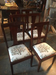 Dining Chairs just completed today.