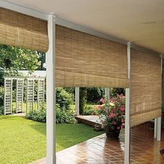 Have to have it. Lewis Hyman 0360 Reed Roll-Up Blind - $28.99 @hayneedle.com