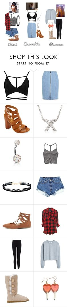 """LAID AND SHITFACED"" by teenage-girl-documentary on Polyvore featuring Boohoo, Steve J & Yoni P, Bamboo, Roberto Coin, Bling Jewelry, Abercrombie & Fitch, LULUS, Liliana, James Perse and MANGO"