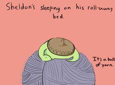 Sheldon the Tiny Dinosaur Like the pancake  picture :D