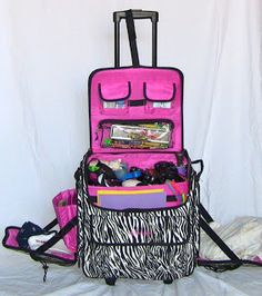 Play Therapy travel bag, this can be ported easily from different venues without breaking your back