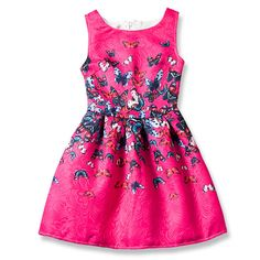 68b578e58 US $13.53 |CHCDMP Girls Dresses Princess Anna Elsa Teenagers Butterfly  Print Princess Party Dress Girl Birthday Clothes Christmas costume-in  Dresses from ...