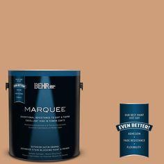 BEHR MARQUEE 1-gal. #T12-4 Darlin Clementine Satin Enamel Exterior Paint