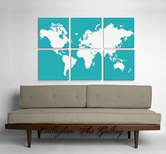 I really want to make these, but they can also be purchased here: http://www.etsy.com/listing/62012556/acrylic-world-map-painting-and-screen?ref=sr_gallery_14&ga_search_query=wall+map&ga_search_type=handmade&ga_facet=handmade